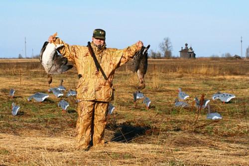 Стратегия и тактика весенней охоты на гуся. Часть 2.