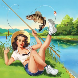 видео приколы на рыбалке девушки