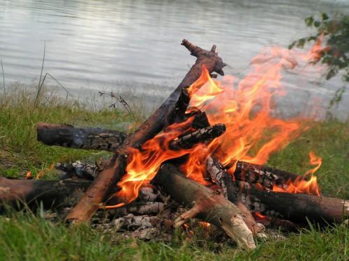 Советы бывалых охотников. Живой огонь.