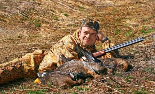 Стратегия и тактика весенней охоты на гуся. Часть 1.